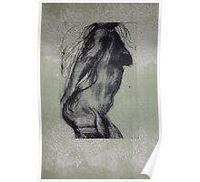 Etching: Nude II Poster