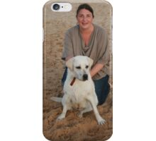 9. Kelsey with her Labrador iPhone Case/Skin