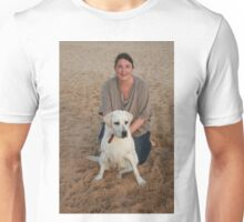9. Kelsey with her Labrador Unisex T-Shirt
