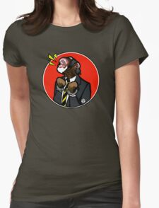 Emancipation of An Office Worker Womens Fitted T-Shirt