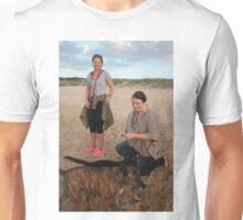 9. Delia & Kelsey with Labrador & Kelpie Cross Unisex T-Shirt