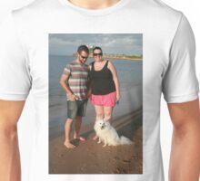 8. Rebecca & her Japanese Spitz Unisex T-Shirt