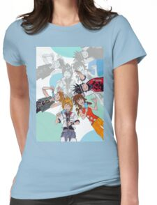Twilight Town- Sweet yet Salty Memories Womens Fitted T-Shirt