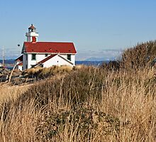 """Point Wilson Lighthouse"" by Lynn Bawden"