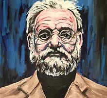 Bill Murray Portrait. by ChrisDurrell