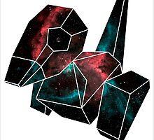 Cosmic Porygon by GarretBobbyFerg