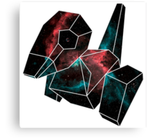 Cosmic Porygon Canvas Print
