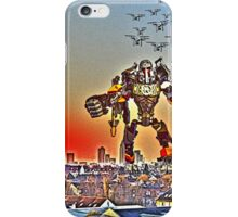Swarm over Frankfurt by #fftw iPhone Case/Skin