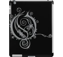 LATTICE LETTER O - diamonds iPad Case/Skin