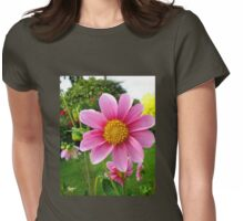 A Sunny Corner of a Tyneside Garden Womens Fitted T-Shirt