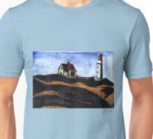 LightHouse (After E.Hopper) Unisex T-Shirt
