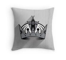 Los Angeles Kings Minimalist Print Throw Pillow