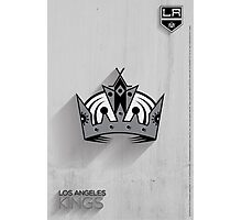 Los Angeles Kings Minimalist Print Photographic Print
