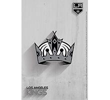 Los Angeles Kings Minimalist Print Photographic Print