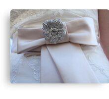 Wedding Bow Canvas Print