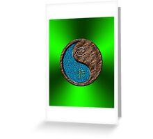 Cancer & Goat Yin Earth Greeting Card