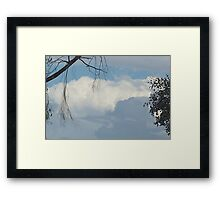 Powerful Pastel Framed Print