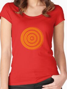 Mandala 33 Vitamin C Women's Fitted Scoop T-Shirt