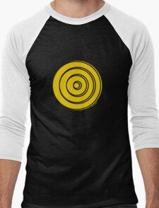 Mandala 33 Yellow Fever  Men's Baseball ¾ T-Shirt
