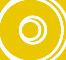 Mandala 33 Yellow Fever  Sticker