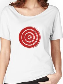 Mandala 33 Colour Me Red Women's Relaxed Fit T-Shirt