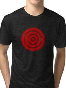 Mandala 33 Colour Me Red Tri-blend T-Shirt