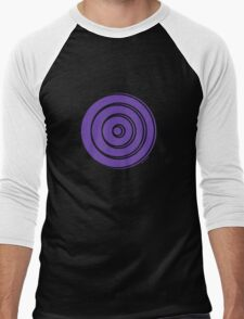 Mandala 33 Purple Haze  Men's Baseball ¾ T-Shirt