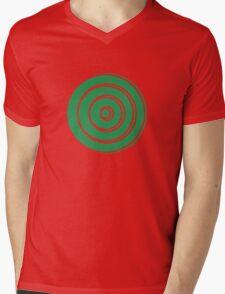 Mandala 33 Green With Envy  Mens V-Neck T-Shirt