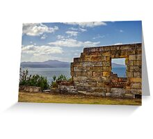 Coal Mines Historic Site Greeting Card
