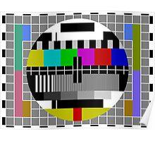 No signal TV Screen Poster