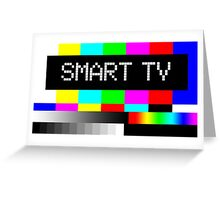 SMART TV Greeting Card