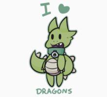 I Love Dragons by Jeremy Lankes