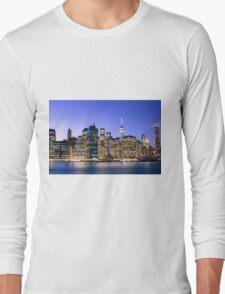 NY City Blue Long Sleeve T-Shirt