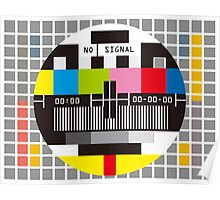 No Signal No signal No signal Poster