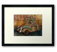 Dream Wheels Framed Print