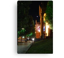 Nightlife at the Capital  Canvas Print