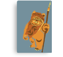 Coast Salish Ewok Canvas Print