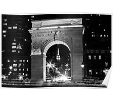 Washington Square Arch Poster