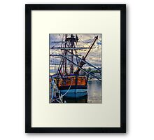 Captain Cook's HMB Endeavour Framed Print