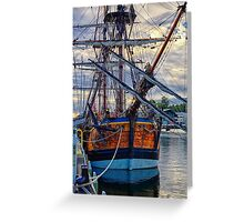 Captain Cook's HMB Endeavour Greeting Card