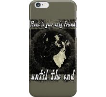 MUSIC IS YOUR SPECIAL FRIEND - black/grey iPhone Case/Skin