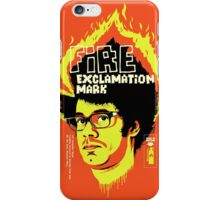 Fire Exclamation Mark iPhone Case/Skin