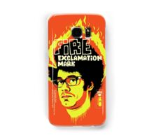 Fire Exclamation Mark Samsung Galaxy Case/Skin