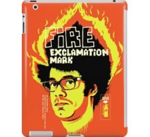 Fire Exclamation Mark iPad Case/Skin