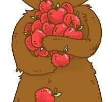 Bear Loves Apples by SimplyKitt