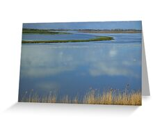 Reflective Clouds Greeting Card
