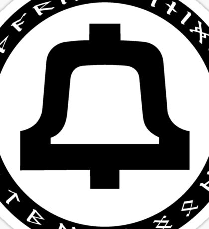 Bell Telephone Logo w/Runes Sticker