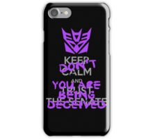 DON'T Keep Calm iPhone Case/Skin