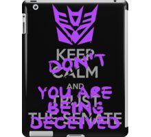 DON'T Keep Calm iPad Case/Skin