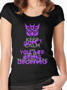 DON'T Keep Calm Women's Fitted Scoop T-Shirt